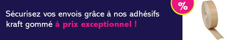 Promotion Adhésifs gommés
