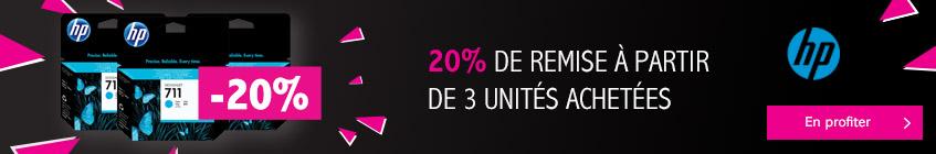 Profitez d'une remise de 10% sur l'ensemble des encres et têtes HP Designjet !