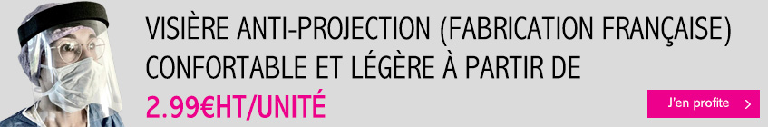 Visière anti-projection