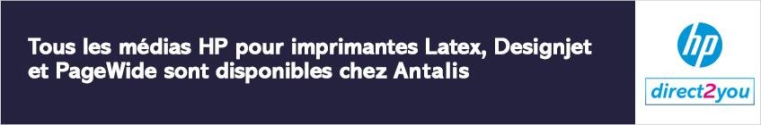 HP Médias chez Antalis